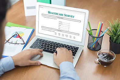 Patients prefer digital when completing satisfaction surveys.