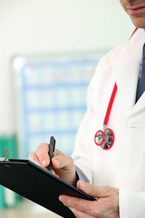 Check-in tablets help healthcare providers comply with HIPAA regulations and reduce errors in patient information.