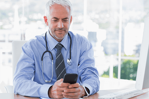 A texting solution will integrate with your existing patient relationship management software.