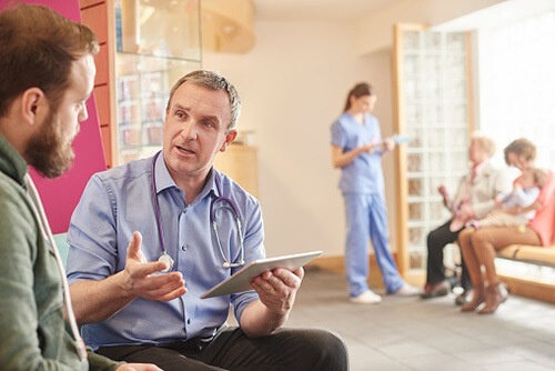 Healthcare offices see patients of all ages