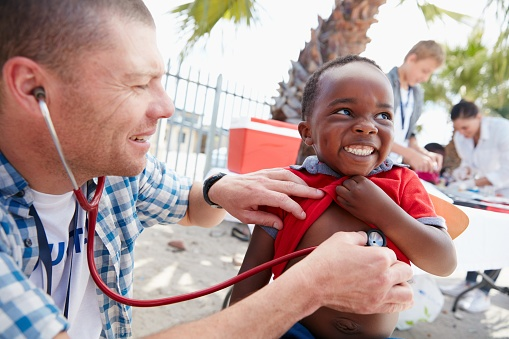 Healthcare practices that give to their community find success