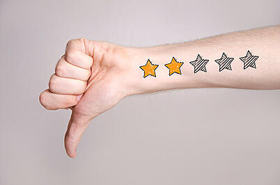 Negative reviews take creativity to handle correctly