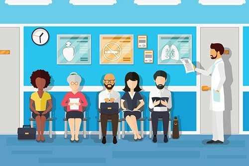 Poor office productivity leads to long wait times for patients