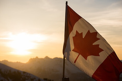 Canadian flag to celebrate Canada Day