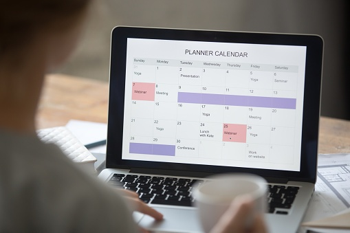 Schedule time to write each day for your practice blog