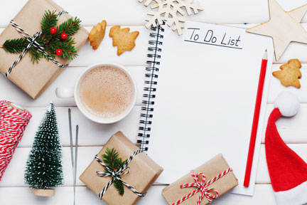 Use the holiday season to reach out to patients