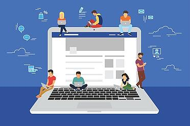 Connect with healthcare professionals in online communities