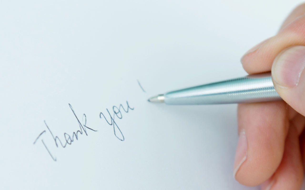 Thank your coworkers to improve retention levels