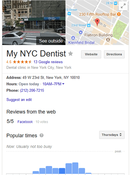 Google+ listings can have a large impact on your healthcare SEO