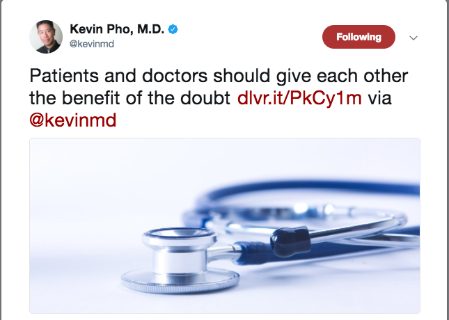 Follow Kevin Pho on Twitter