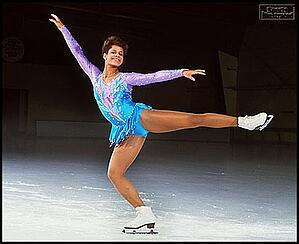 Debi Thomas, olympian and doctor