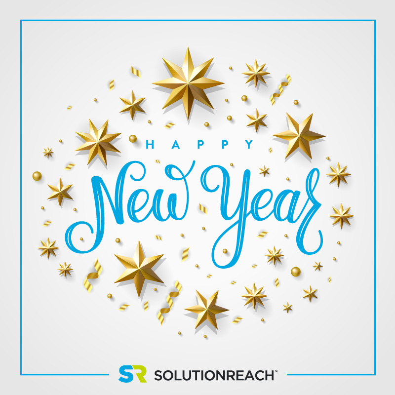 Happy new year from Solutionreach