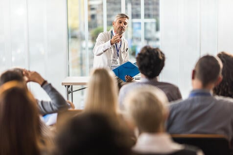 Healthcare conferences directly impact patients