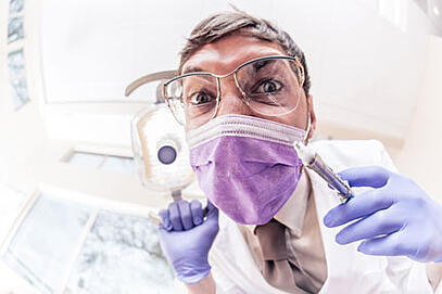 Fear of dentists is a common problem