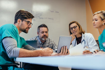 Intra office communication is important to healthcare practices