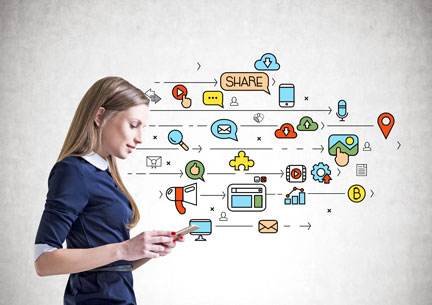 Social media, blogging, and email are all important parts of your online marketing
