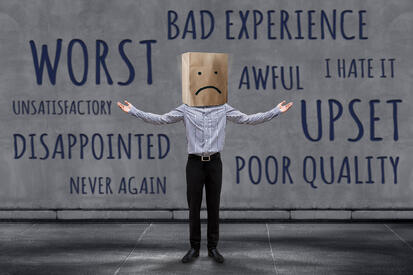 Fixing problems that cause poor online reviews