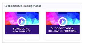 Patient Prism Training Videos Example