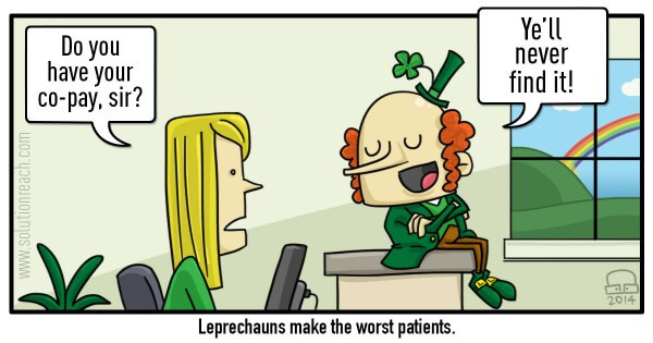 St. Patrick's Day Comic