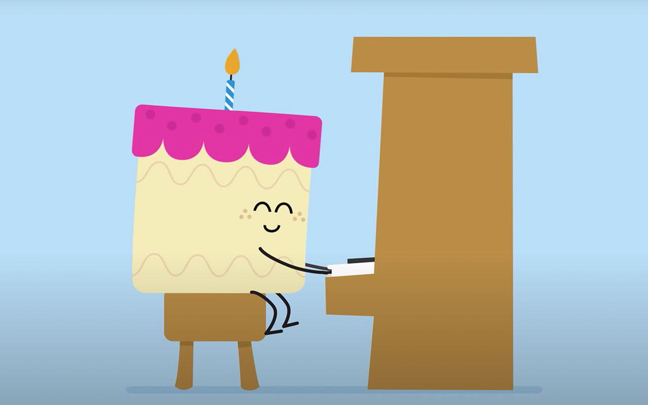 Creating a happy birthday video for patients