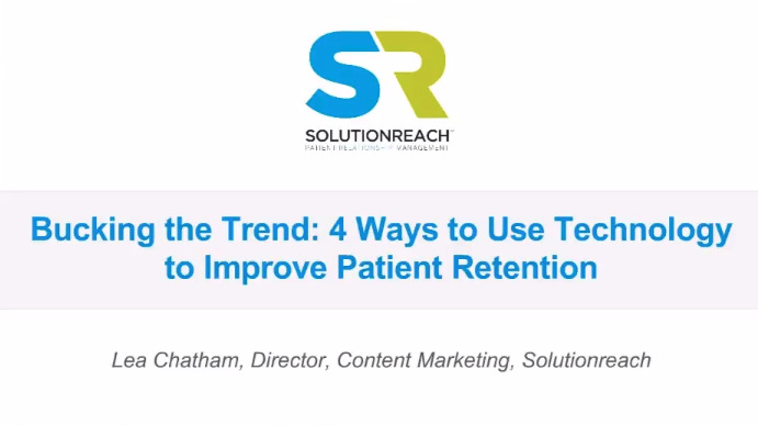 4 Ways to use Technology to Improve Patient Retention