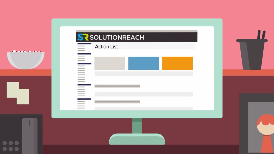 Action List from Solutionreach
