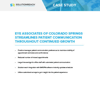 Eye Associates of Colorado Springs Streamlines Patient Communication