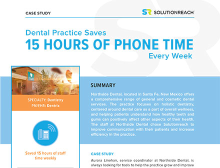 Dental Practice Saves 15 Hours of Phone Time