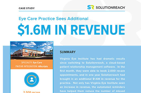 Virginia Eye Sees Additional $1.6M In Recall Revenue