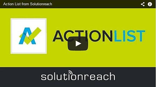 Action List Product Video Image