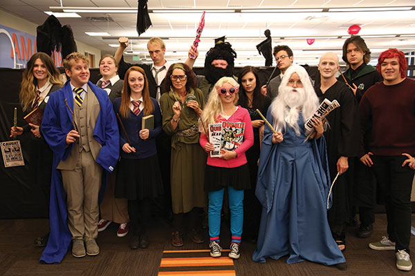 Scary Fun. Just your typical Oct. 31 at the office.